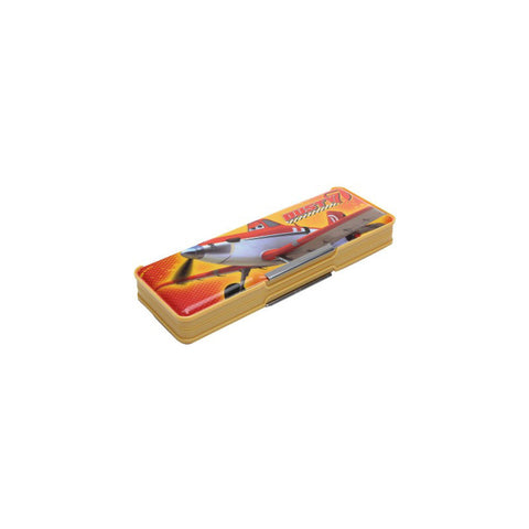 Disney Planes Cartoon Art Magnetic Pencil Box