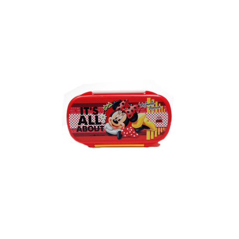 Disney Minnie Mouse Lunch Box 3 Containers Lunch Box