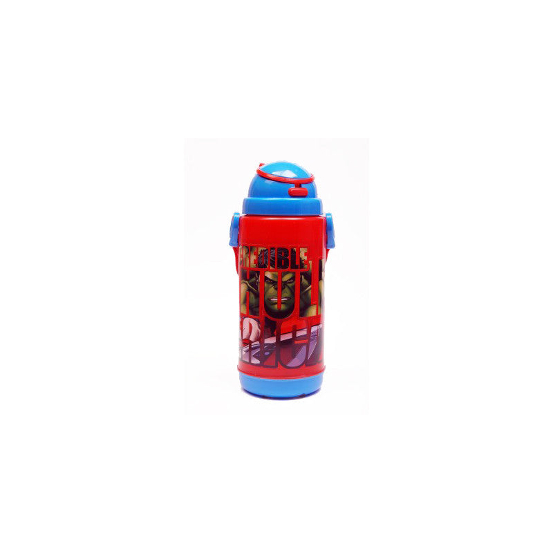 Disney Marvel Avengers Push Button 450 ml Water Bottle