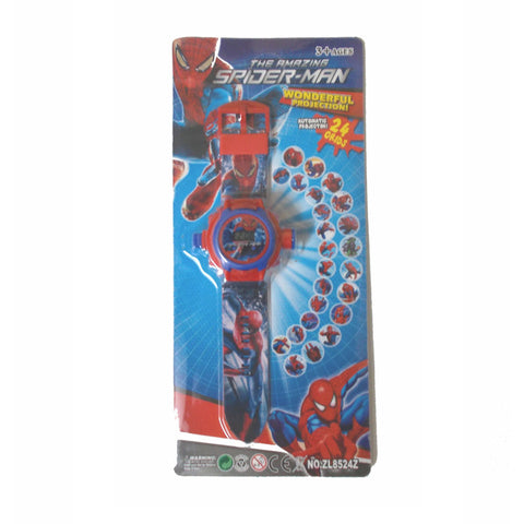 Amazing Spiderman Projector Digital Watch For Kids