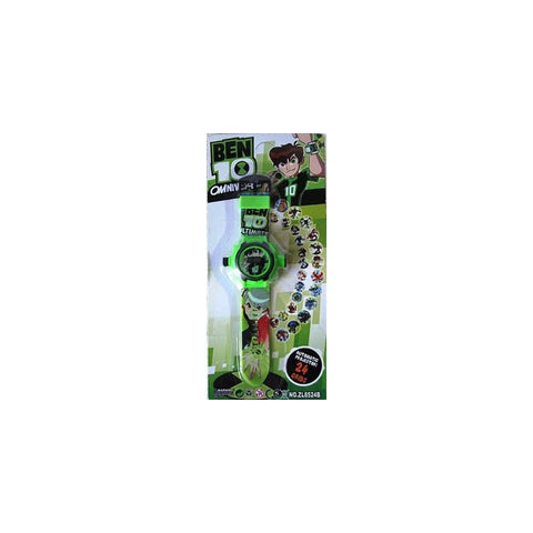 BEN 10 Projector Watch With Digital Watch For Kids