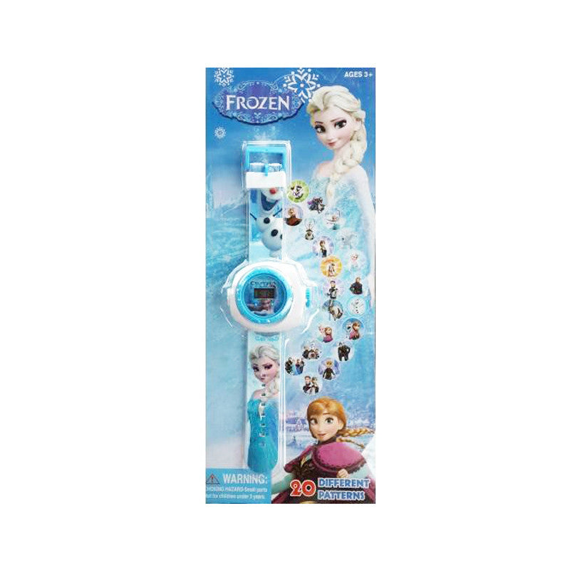 Frozen Projector Digital Watch for Kids