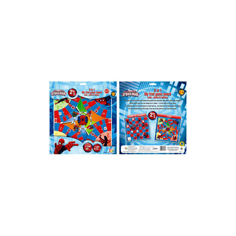 Spiderman Ludo and Slides & Ladders Game Board