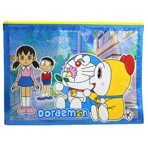 A4 Sparkle Pouch Of Doraemon