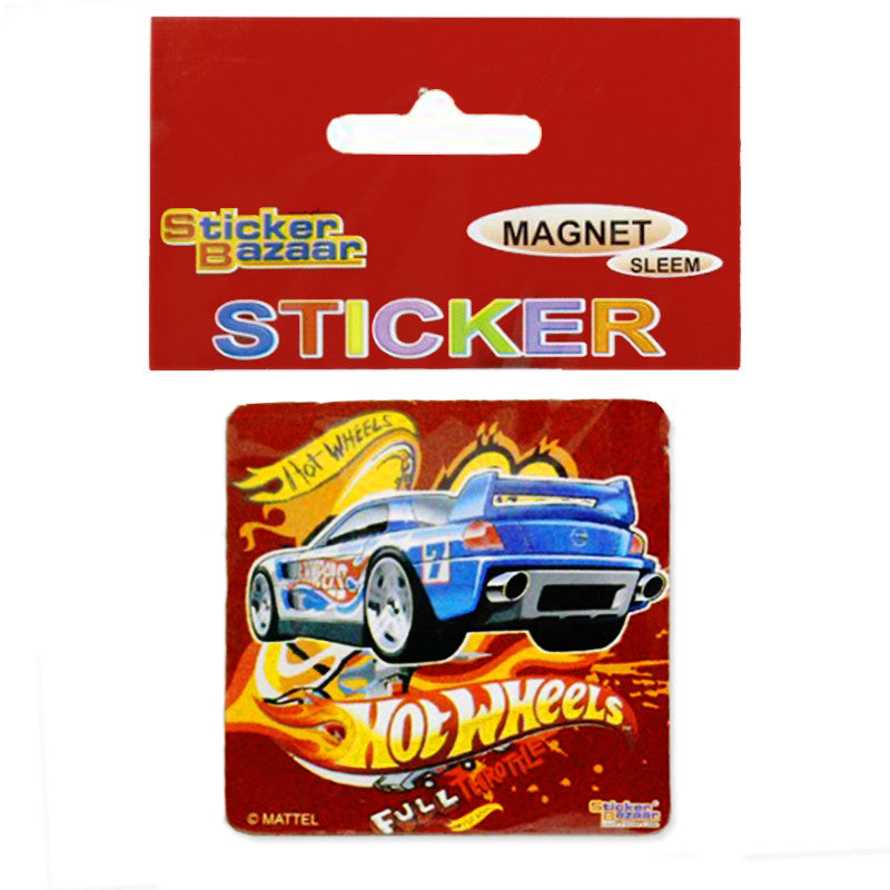 Offically Licensed- Slim Magnet of Hot Wheels