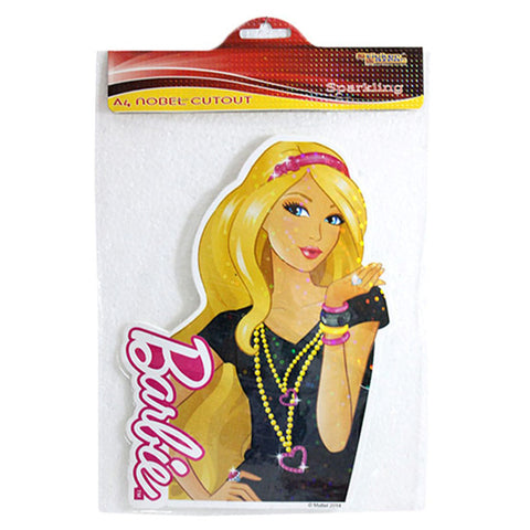 A4 Noble Cutout Of Barbie
