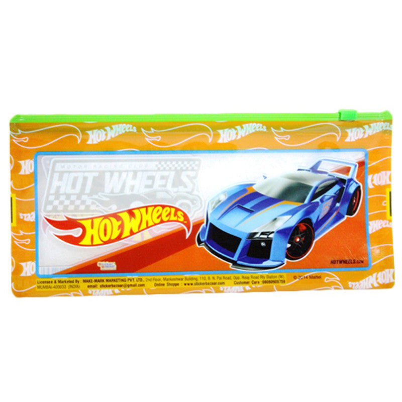 Pencil Pouch Of Hot Wheels