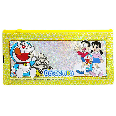 Pencil Sparkle Pouch Of  Doraemon