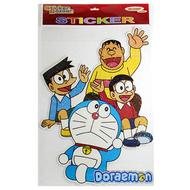 Big Cutout Sticker Of Doraemon