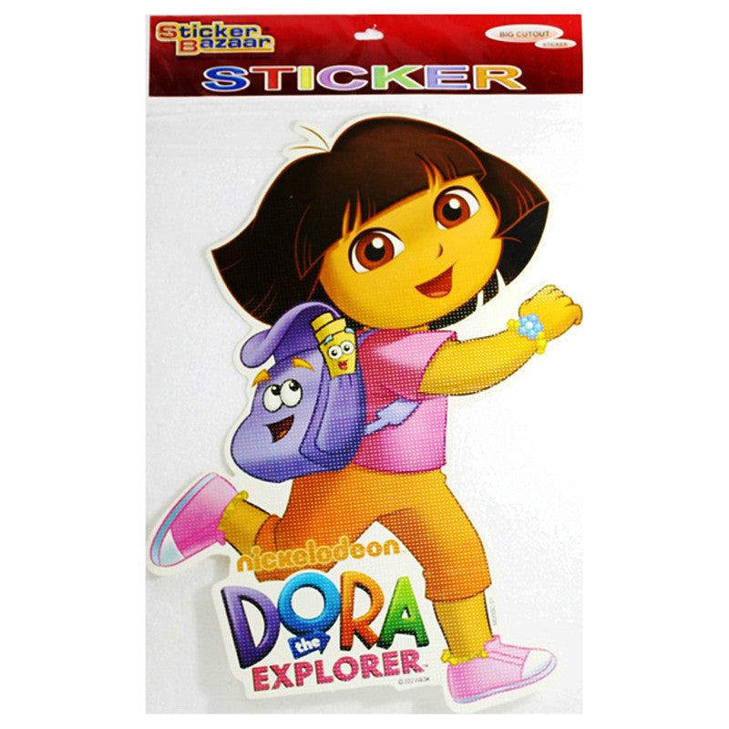 Big Cutout Sticker Of Dora