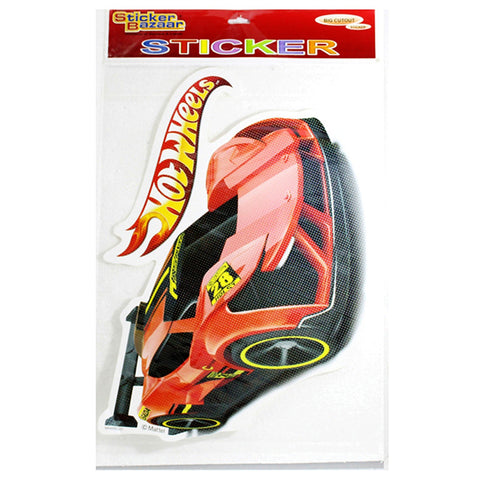 Big Cutout Sticker Of Hot Wheels