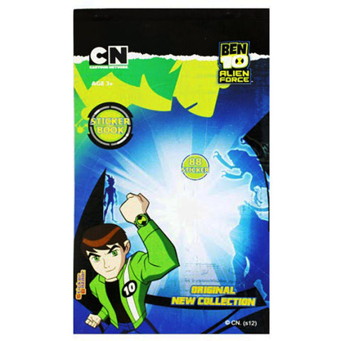 Offically Licensed- Booklet Sticker Of BEN 10 A F