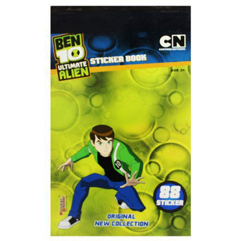 Offically Licensed- Booklet Sticker Of BEN 10