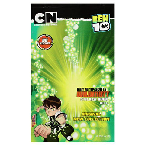 Offically Licensed- Booklet Sticker Of BEN 10 Ultimate
