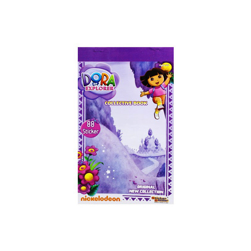 Offically Licensed- Booklet Sticker Of Dora