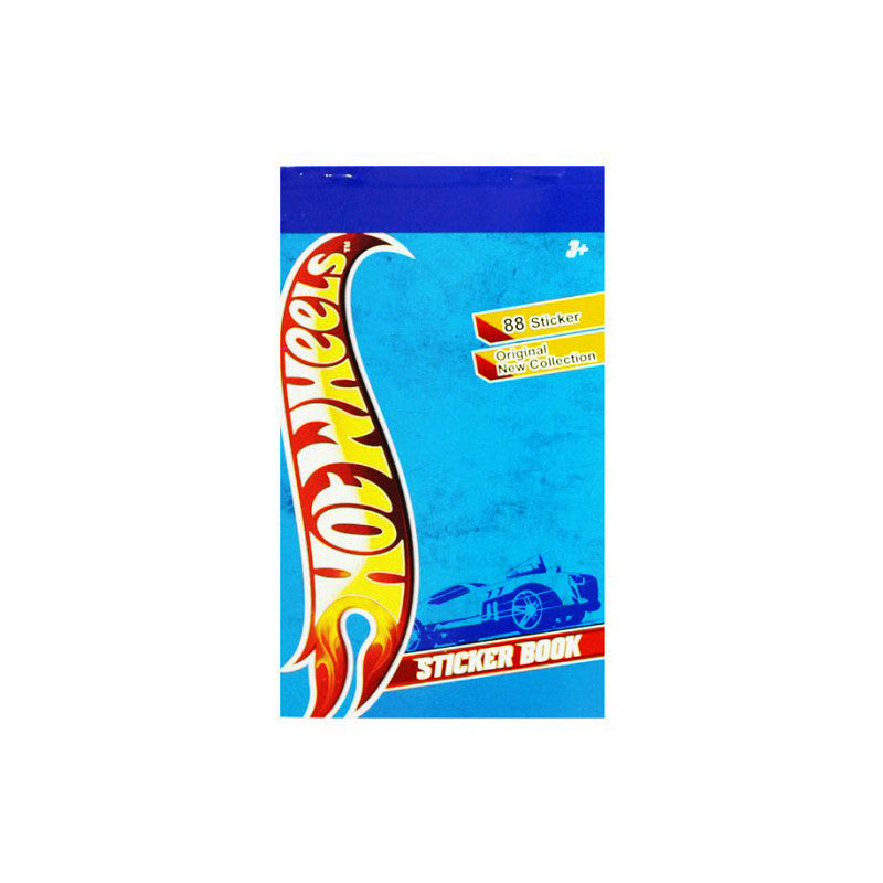 Offically Licensed- Booklet Sticker Of Hot Wheels