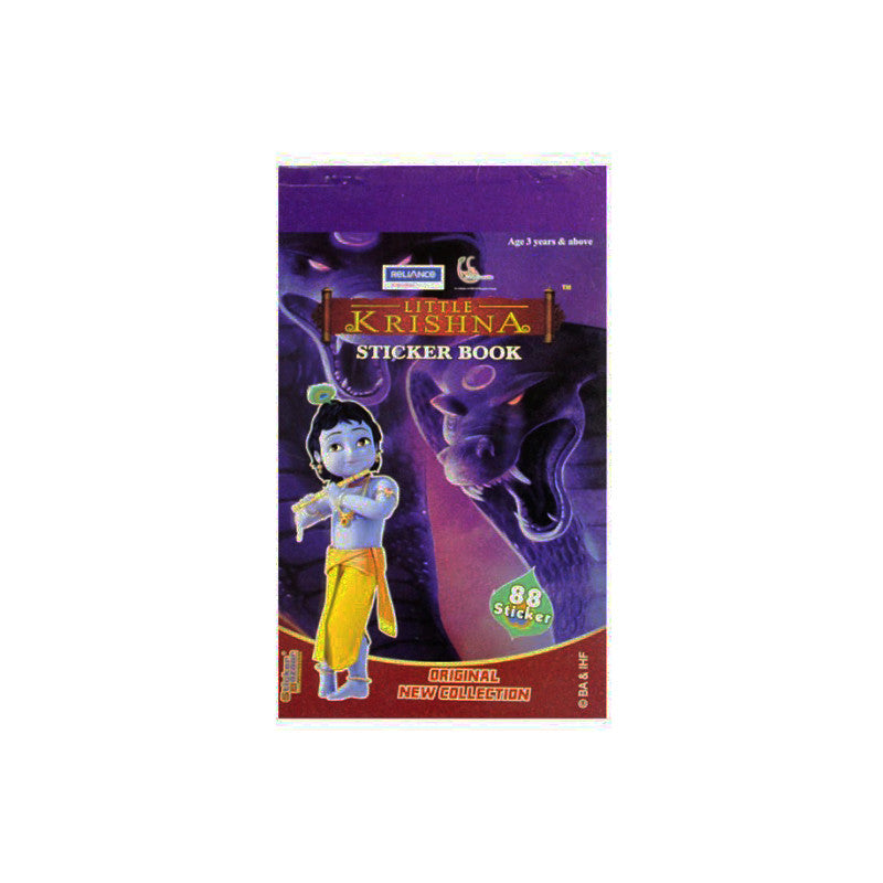 Offically Licensed- Booklet Sticker Of Little Krishna