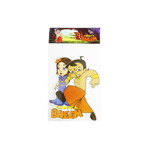Offically Licensed- A4 Cutout Sticker Of Chhota Bheem