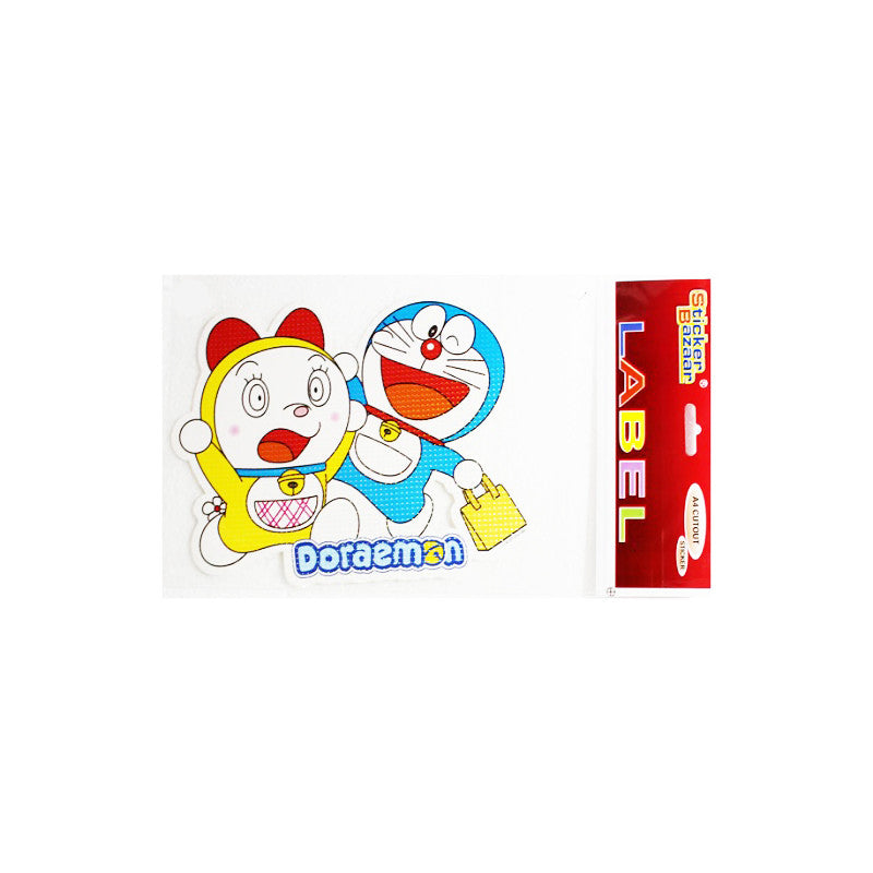 Offically Licensed- A4 Cutout Sticker Of Doraemon