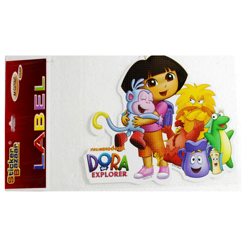 A4 Cutout Sticker Of Dora