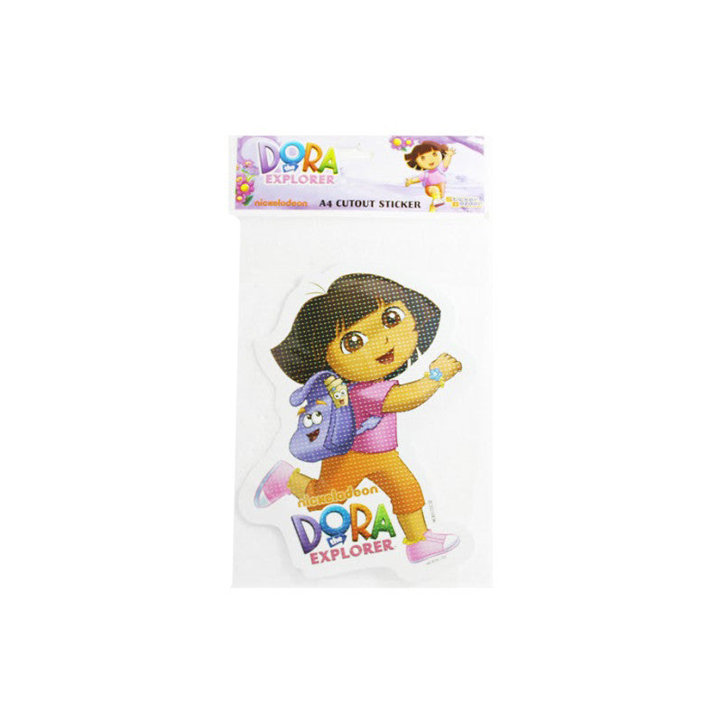 Offically Licensed- A4 Cutout Sticker Of Dora