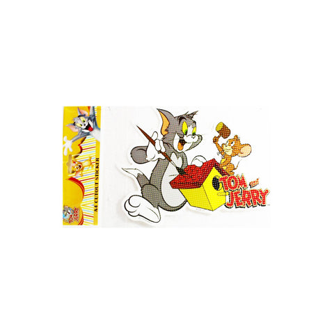 Offically Licensed- A4 Cutout Sticker Of Tom & Jerry