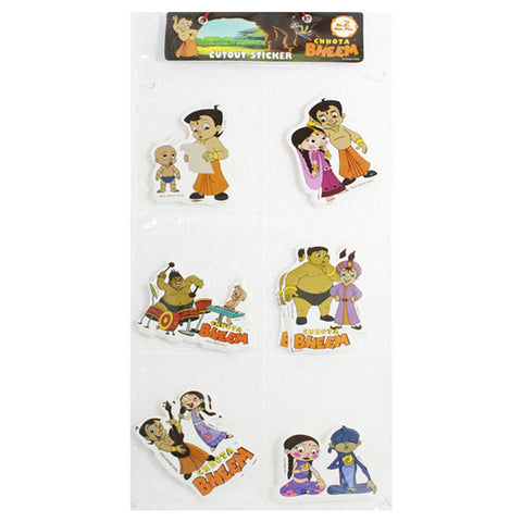 Big Cutout Sticker Of Chhota Bheem