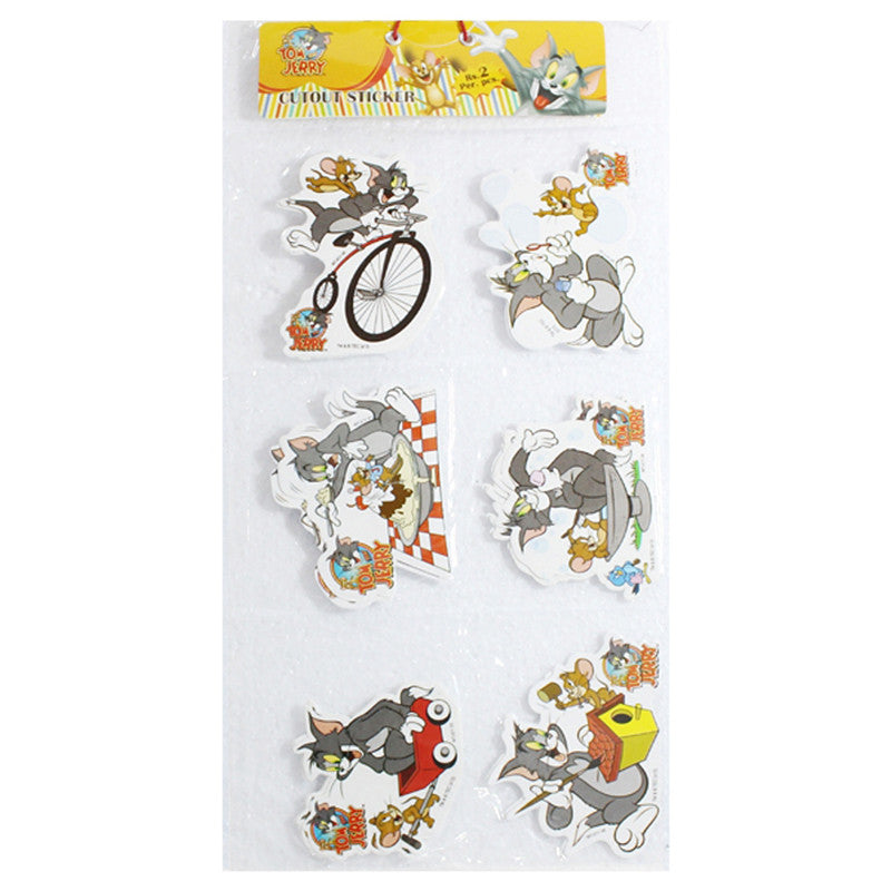 Cutout Sticker Folder Of Tom & Jerry
