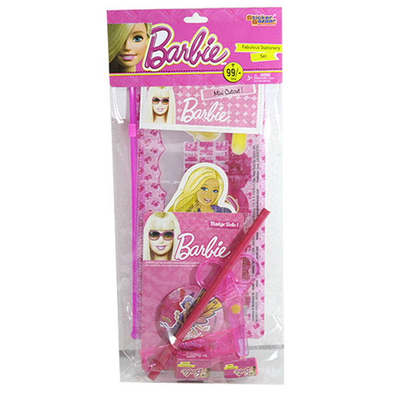 Stationery Set Of Barbie