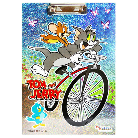 Offically Licensed- Exam Sparkle Pad Of Tom & Jerry