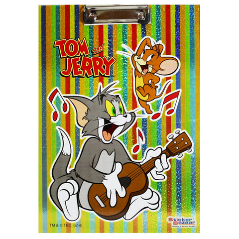 Offically Licensed- Exam Sparkle Pad Tom & Jerry