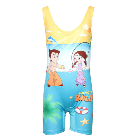 Chhota Bheem Leg Style Pattern For Girls
