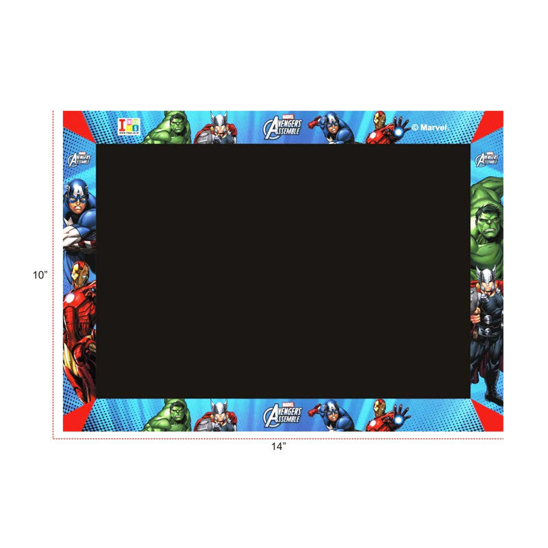Avengers Slate, Writing Board And Game (3-in-1)