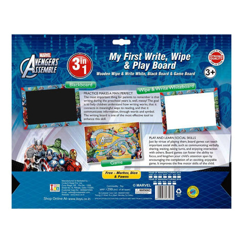 Doraemon Slate, Writing Board And Game (3-in-1)