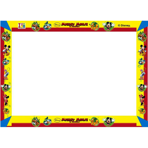 Mickey Mouse Slate, Writing Board And Game (3-in-1)
