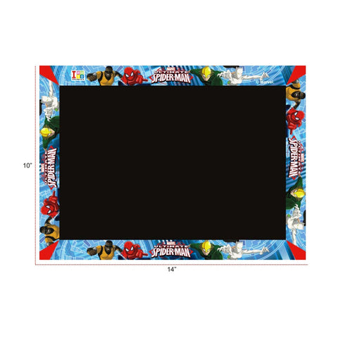Spiderman Slate, Writing Board And Game (3-in-1)