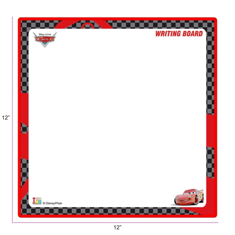 Cars Writing Board and Slides & Ladders Game