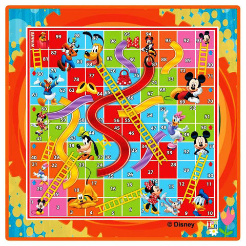 Mickey Mouse Writing Board and Slides & Ladders Game