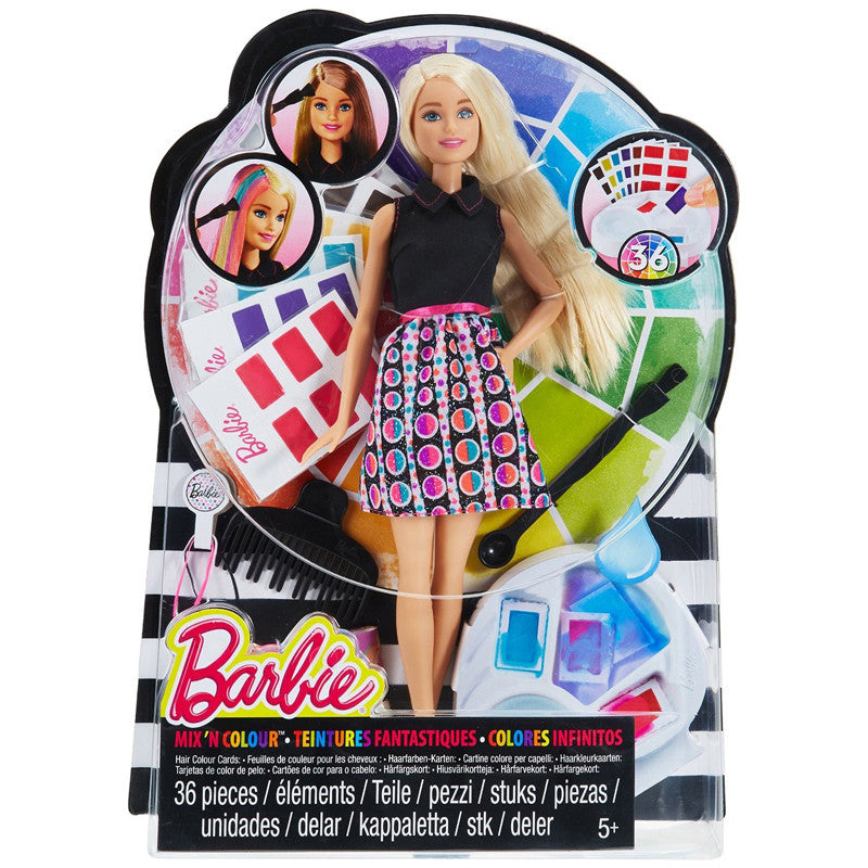 Barbie Mix & Colour Doll