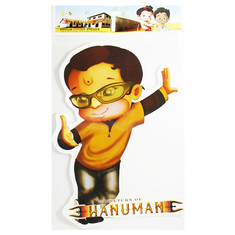 Medium Cutout Sticker Of Hanuman