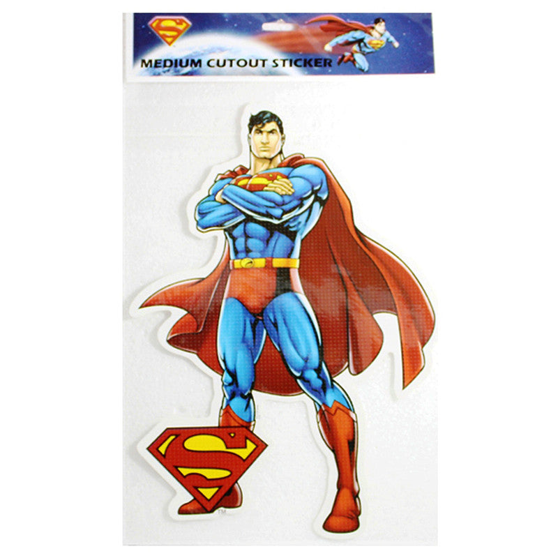 Medium Cutout Sticker Of Superman