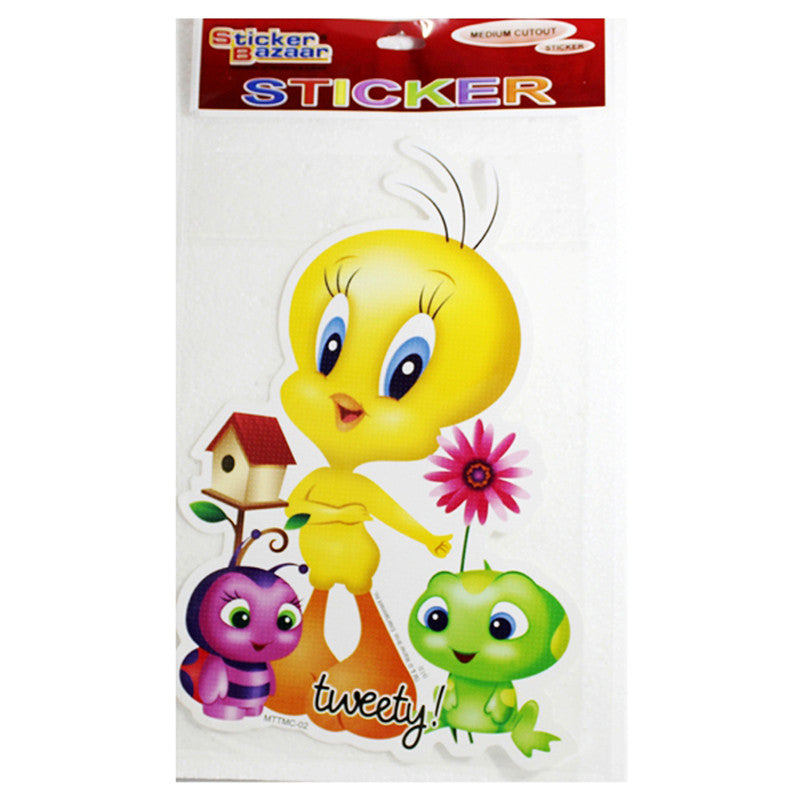 Medium Cutout Sticker Of Tweety