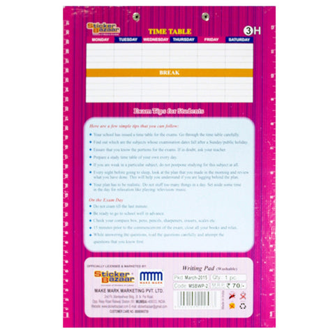 Offically Licensed- Exam Pad Eco Of Barbie
