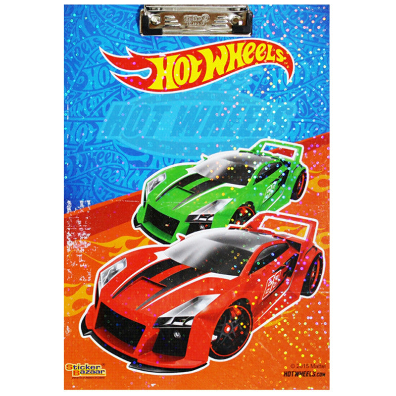 Offically Licensed- Exam Pad Eco Of Hot Wheels