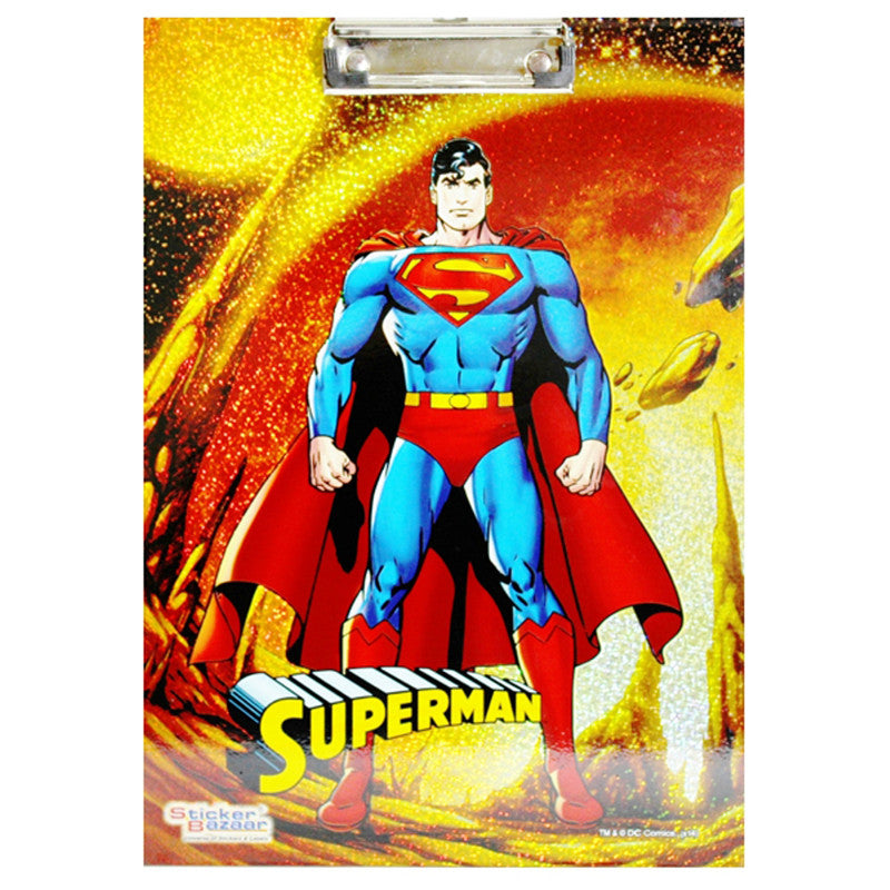 Offically Licensed- Exam Sparkle Pad Of Superman