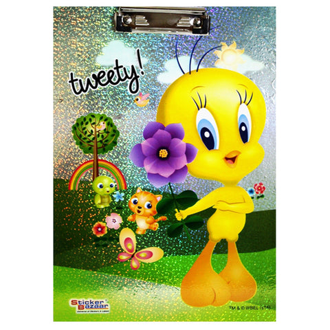 Offically Licensed- Exam Sparkle Pad Of Tweety
