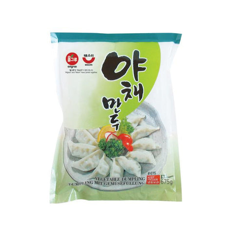 [ALLGROO] Vegetable Dumpling / 올그루 야채만두 (675g)
