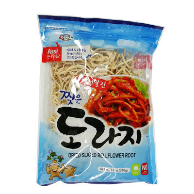 [Assi] Dried Sliced Bellflower Root/아씨 찢은 도라지(12oz)