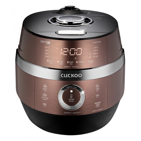 [CUCKOO] FULL STAINLESS ECO CLASSICO IH PRESSURE RICE COOKER (CRP-JHVR1009F) 10 Cups / 쿠쿠 압력밥솥 CRP-JHVR1009F 10인용