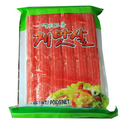[WANG] Imitation Crab Meat Stick/ 샐러드용 게맛살 (16oz)